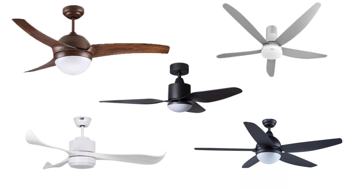 best ceiling fans with lights in singapore