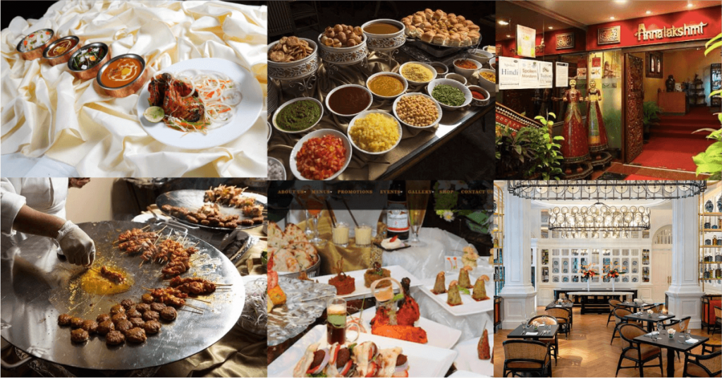 A vast selection of indian buffets in singapore