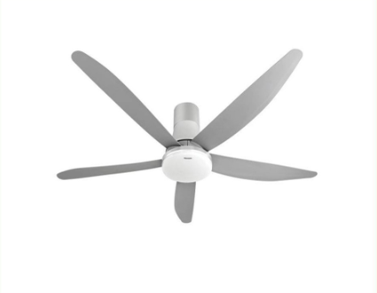 Panasonic FM15GW 60 inch white plastic fan with five blades