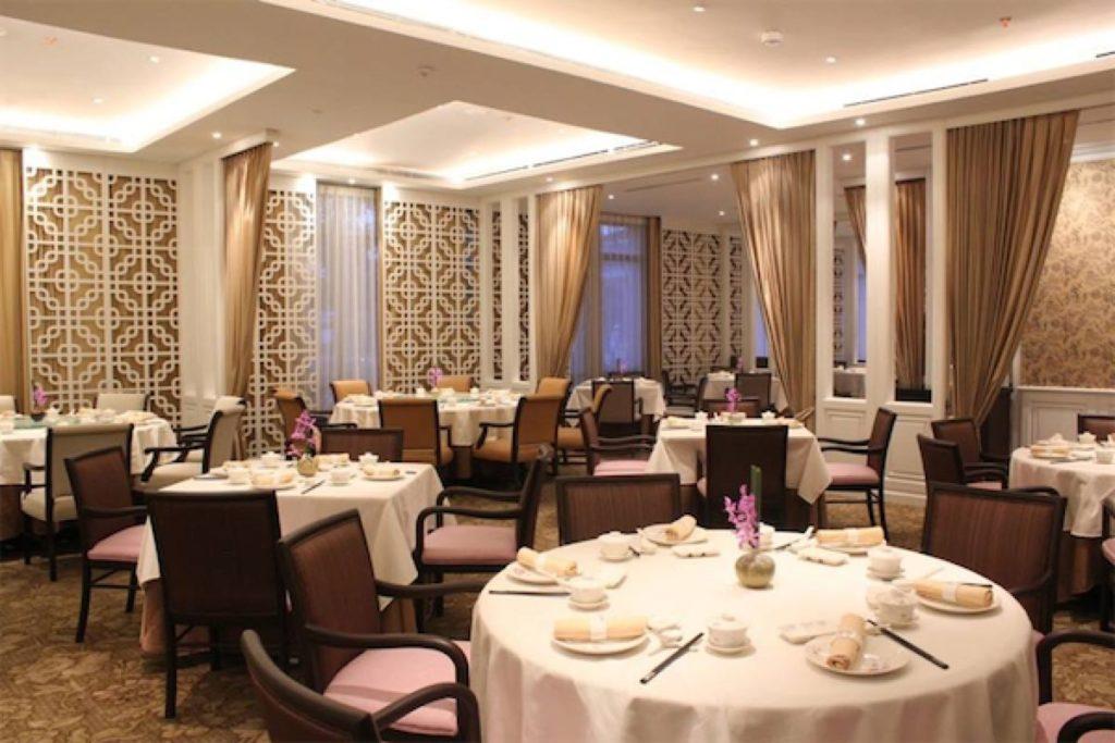 Interior of Man Fu Yuan, a restaurant serving dim sum buffet in Singapore