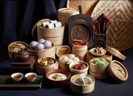 A selection of dim sum at Si Chuan Dou Hua