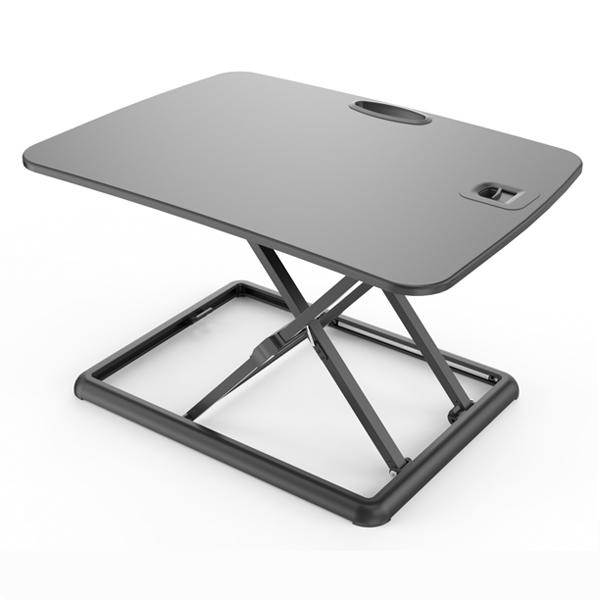 grey standing desk