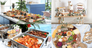 Variety of foods from the best catering services in singapore