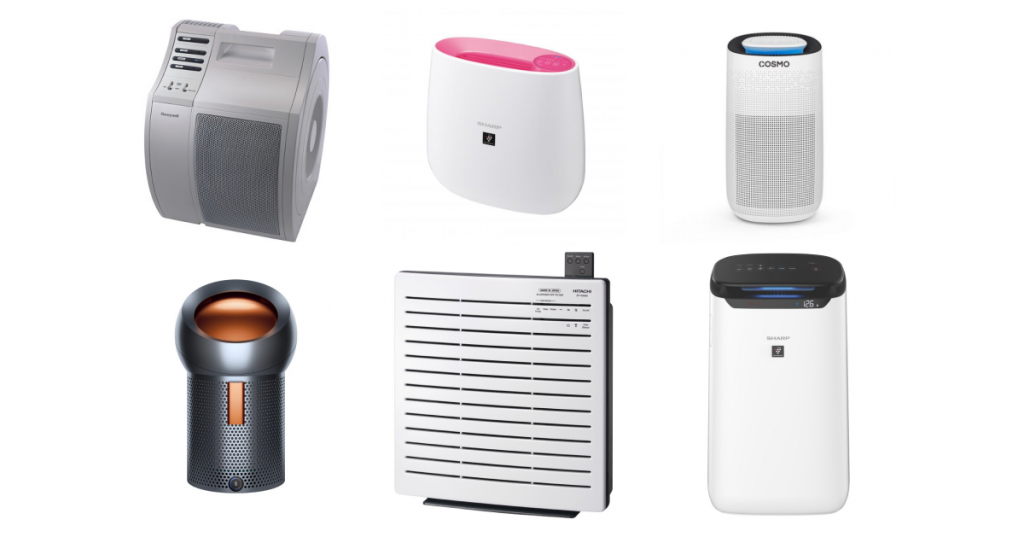Different types and variations of air purifiers