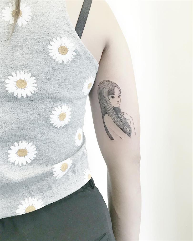 tattoo of girl