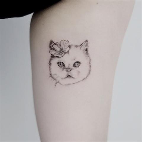tattoo of cat