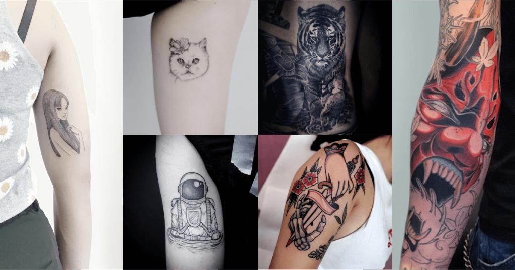 Different tattoo designs