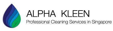 Logo of Alpha Kleen, a carpet cleaning service in Singapore