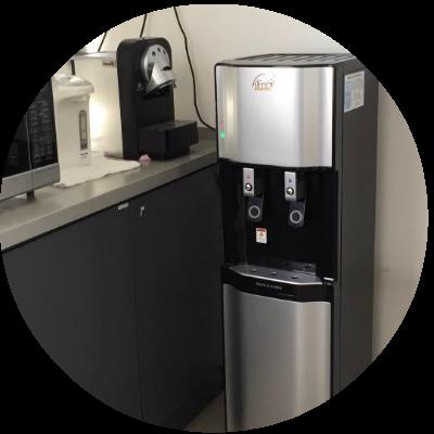 Bottleless water dispenser by Alfrex Water