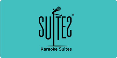 Logo for K Suites, a karaoke place in Singapore