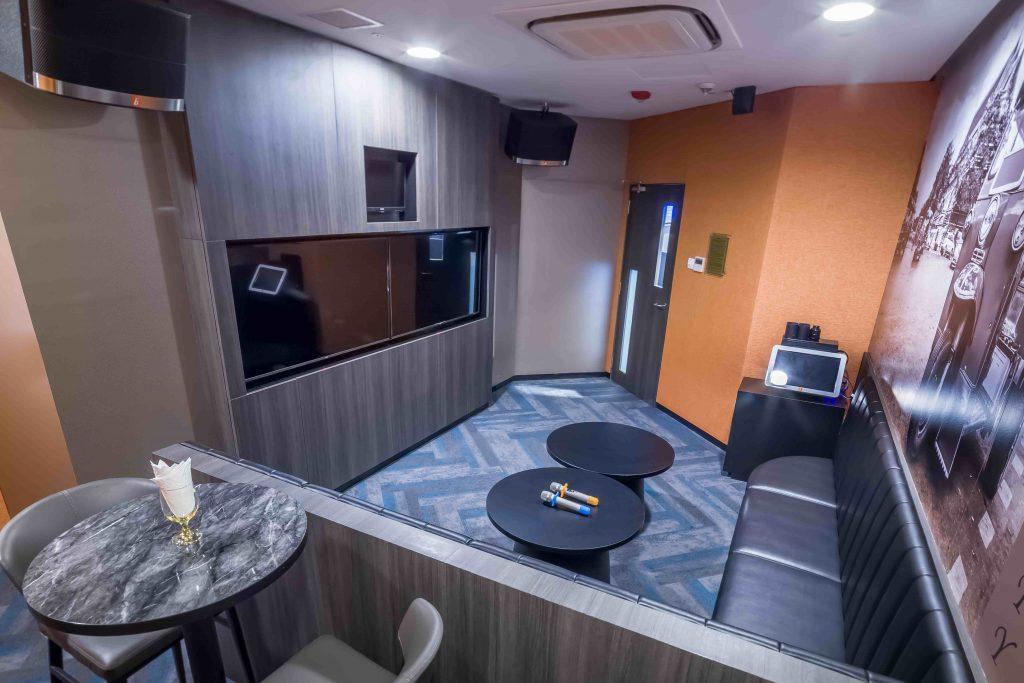 Karaoke room in Aviary KTV