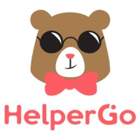 Logo of HelperGo, one of the cleaning services providers in Singapore