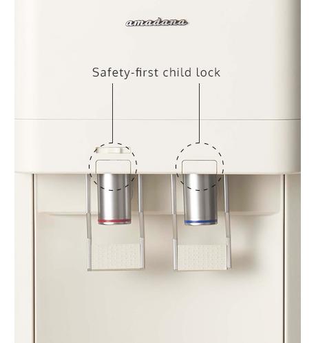 A bottleless water dispenser by FLC Inc
