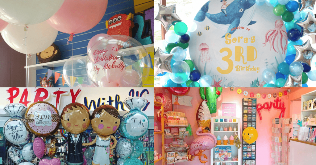 Best places to buy party supplies in Singapore