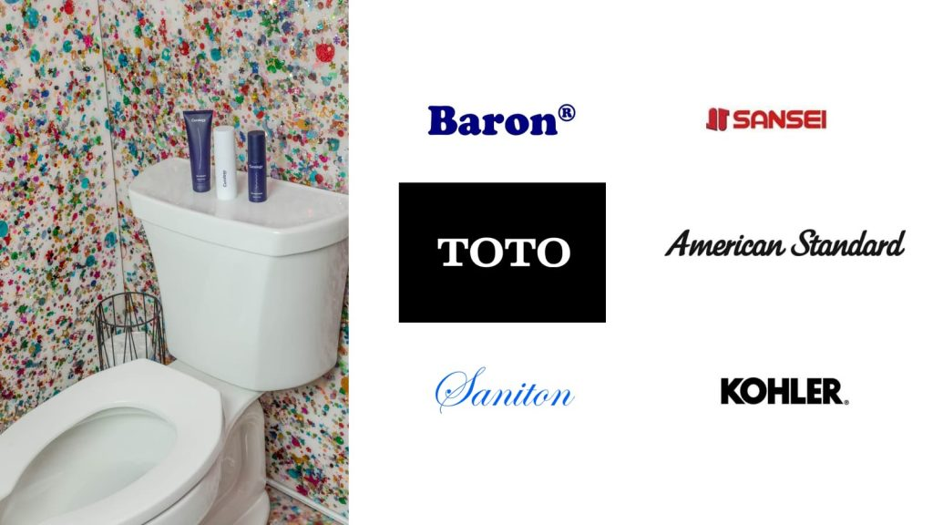 a toilet bowl and toilet bowl brands in singapore