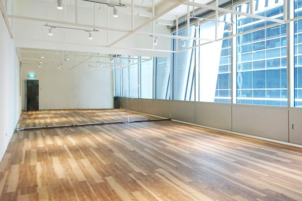 Hale Yoga studio interior in Singapore