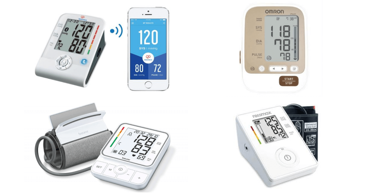 Best blood pressure monitors in Singapore
