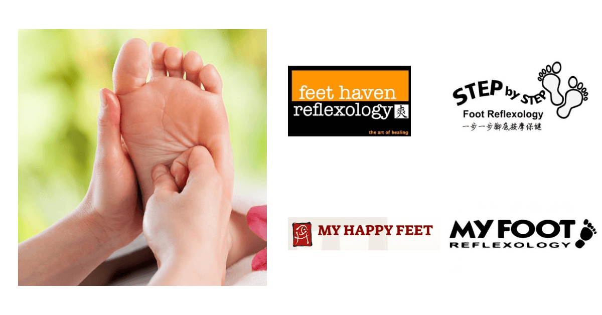 Best foot reflexology in Singapore