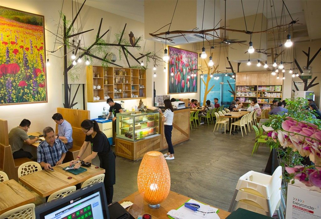 Interior of Nature Cafe