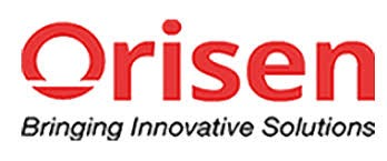 Logo of Orisen, a copiers rental company