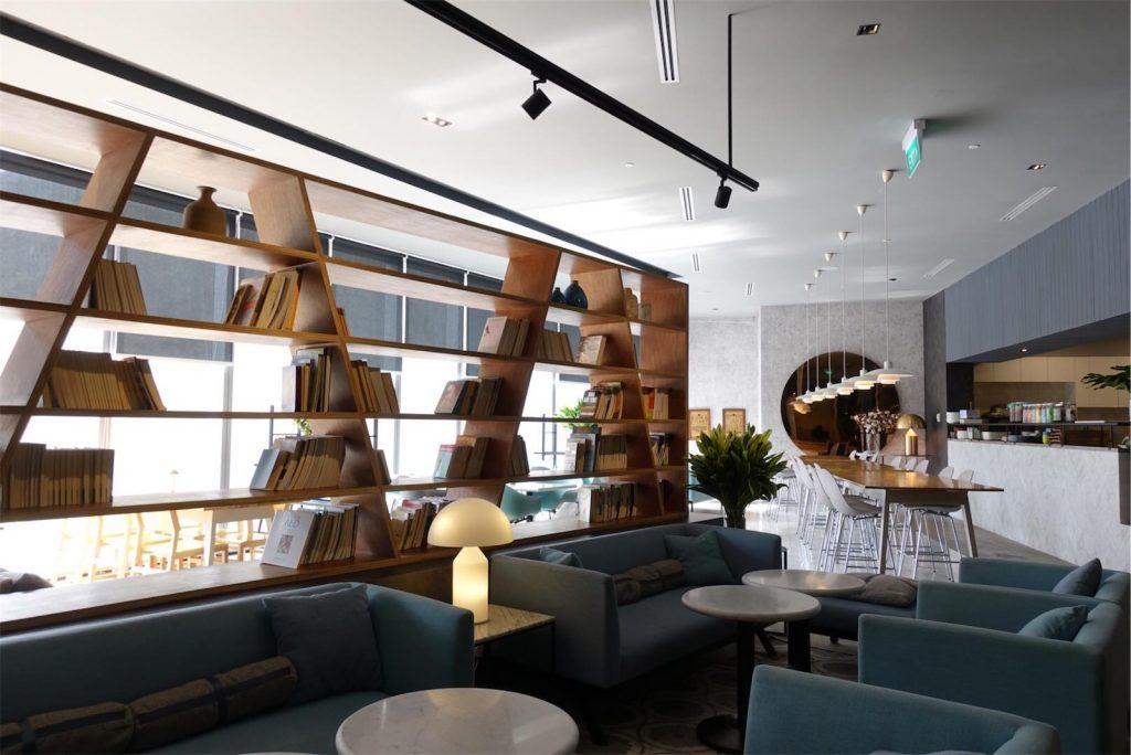 Interior of Real Food restaurant