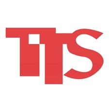 Logo of TTS, a copiers rental company