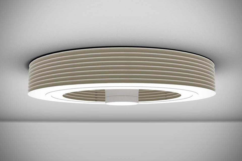 Exhale Bladeless Ceiling Fan with Light