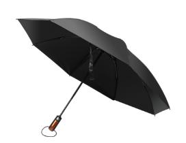An open Hailstorm umbrella