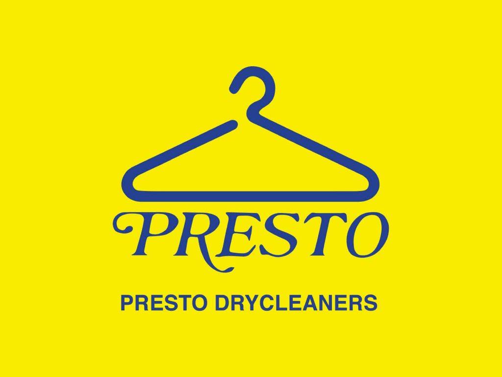 logo of Presto Drycleaners