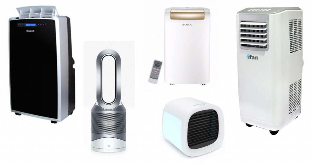 Differet types of portable aircon products