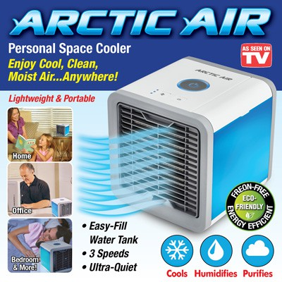 Arctic Air Cooler Quick To Cool Air Portable Air Conditioner Mini Cool Fan