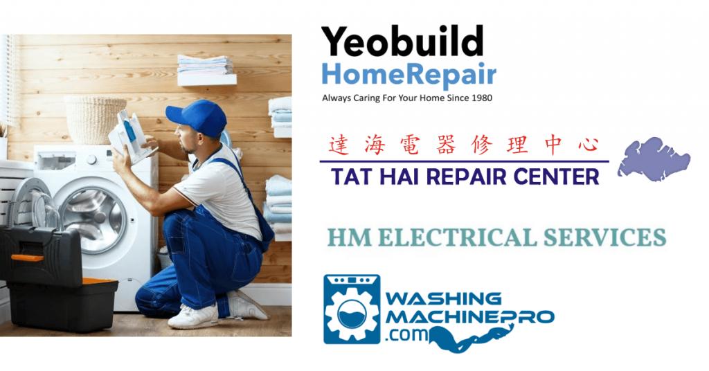 best washing machine repair companies in Singapore