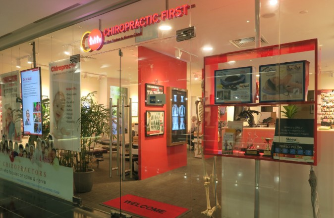 chiropractic first clinic in raffles place singapore
