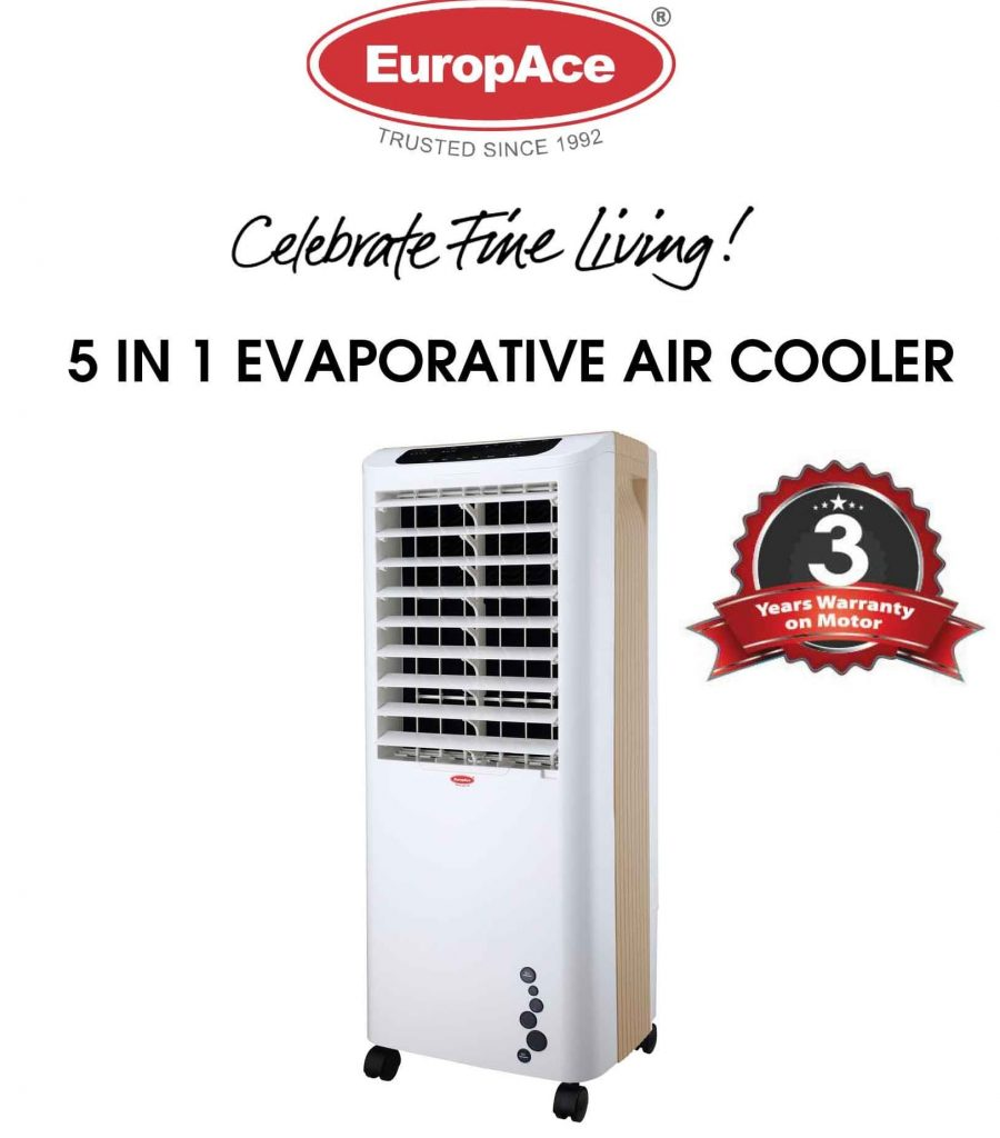 EUROPACE ECO5802T 5 in 1 Evaporative Air Cooler