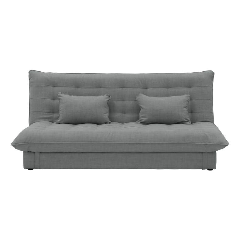 Pigeon grey tessa 3 seater storage sofa bed