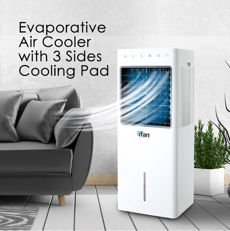 iFan - PowerPac Evaporative Air Cooler with 9.3Litres water tank(IF7850)