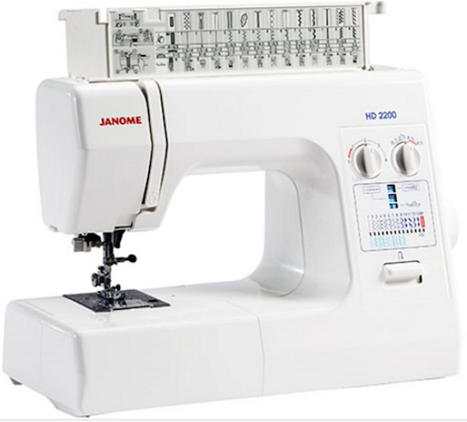 Janome HD2200 - Easy Jeans Heavy Duty Sewing Machine