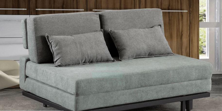 Lawry queen size sofa bed in grey color