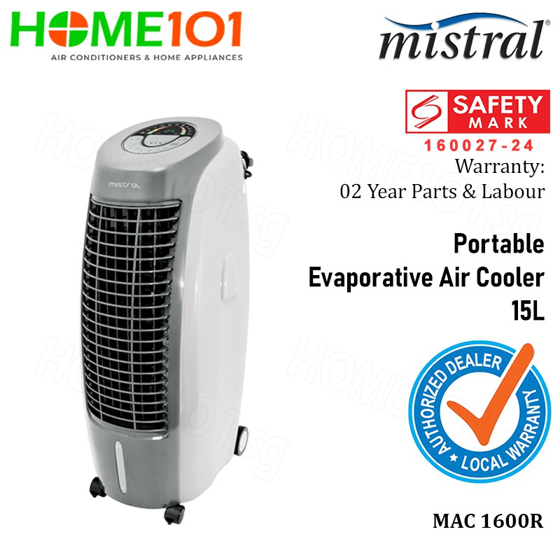 Mistral MAC1600R Portable Evaporative Air Cooler