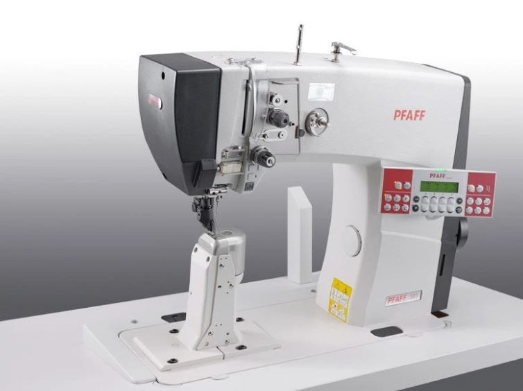 PFAFF 591-940/02 BL N5 / N7 - Single Needle Top and Bottom Roller Feed Post-bed Machine