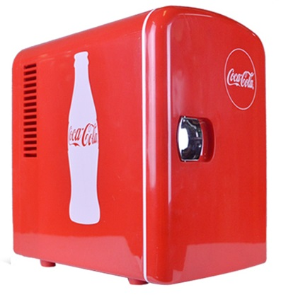 AGWS Coca-Cola Mini Fridge Electric Cooler and Warmer