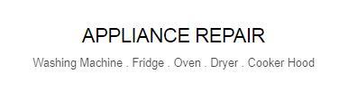 Appliance repair singapore website home header