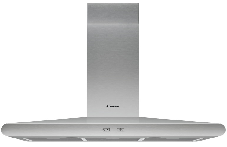 Ariston AHC 9.7 AB X silver cooker hood