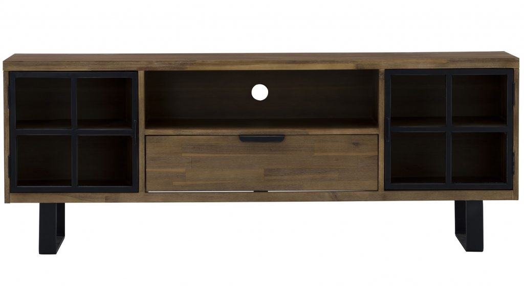 Brinhill 6 ft Solid Wood TV Console