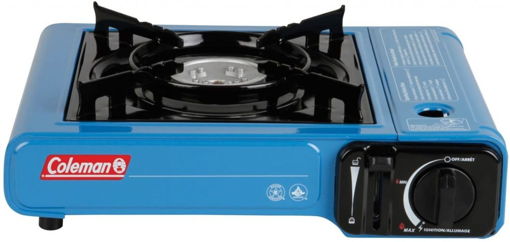 Coleman Portable Butane Stove Color Blue
