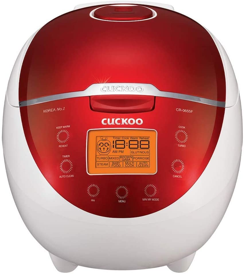 CUCKOO Electric Mini Rice Cooker CR-0365FR 3-Persons multi cooker