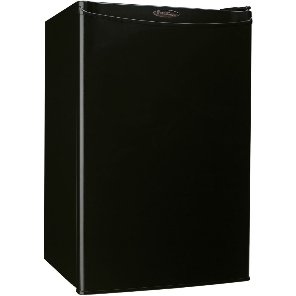 Danby DAR044A4BDD-3 Compact All Black Color Refrigerator