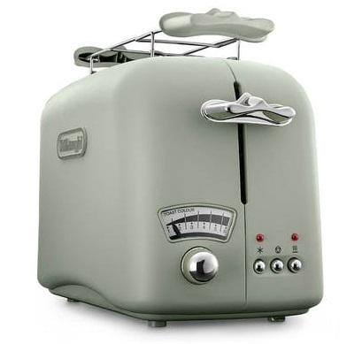 DeLonghi CT021.GR Argento Flora Toaster