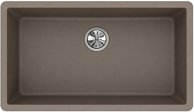 Elkay Quartz ELGU2522GR0 Brown Kitchen Sink
