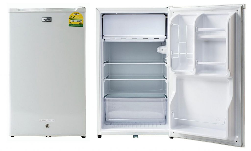 Farfalla FR-103Q 103L Bar Fridge white Color
